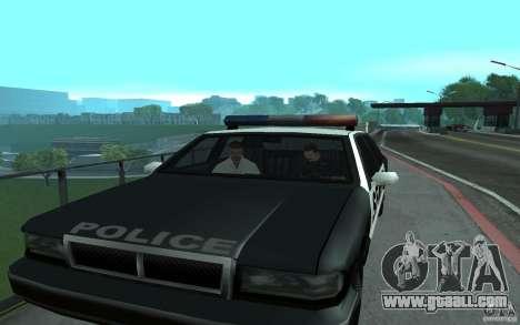 Police at the bridge, San Fierro for GTA San Andreas forth screenshot