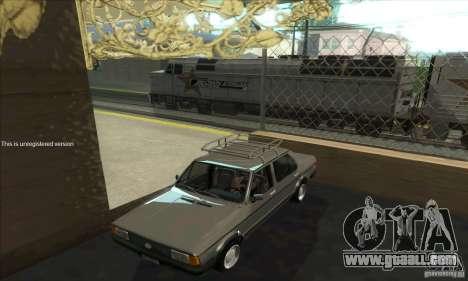 Volkswagen Jetta MK1 for GTA San Andreas inner view