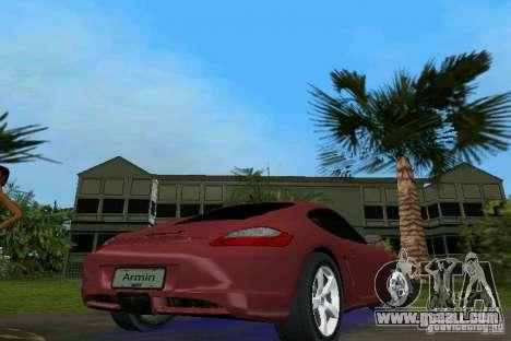 Porsche Cayman for GTA Vice City back left view