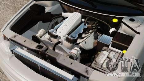 Dodge Intrepid 1993 Civil for GTA 4 inner view