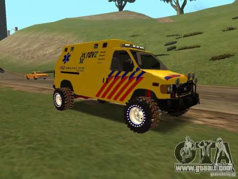 Ford E-150 for GTA San Andreas right view