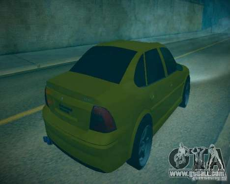 Opel Vectra B for GTA San Andreas inner view