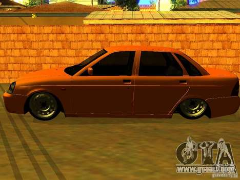 LADA 2170 Anzhi for GTA San Andreas back left view