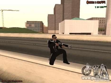 Gray weapons pack for GTA San Andreas third screenshot