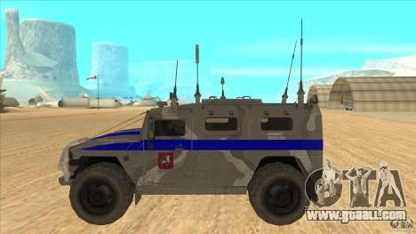 GAS-23034 SPM-1 Tiger for GTA San Andreas left view
