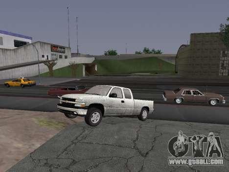 Chevorlet Silverado 2000 for GTA San Andreas left view