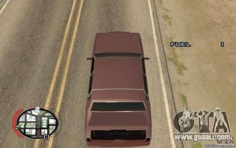 Trunk Hide for GTA San Andreas second screenshot