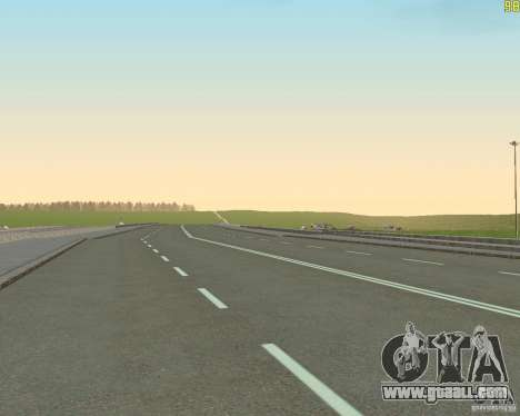 Finished building the road to Criminal Russia for GTA San Andreas fifth screenshot