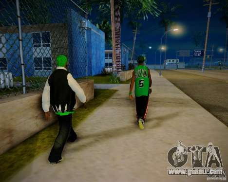 Skins pack gang Grove for GTA San Andreas sixth screenshot