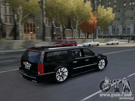 Cadillac Escalade ESV 2012 DUB for GTA 4 inner view