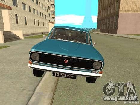 GAZ Volga 24-12 for GTA San Andreas back left view