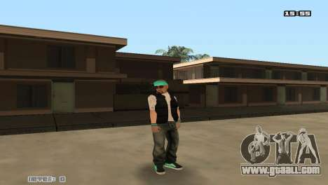 Build skins Rifa for GTA San Andreas fifth screenshot
