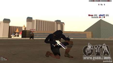 New Chrome Guns v1.0 for GTA San Andreas