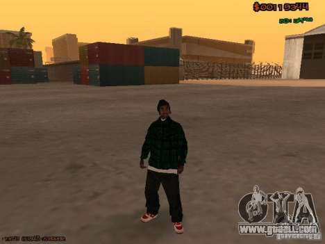 Grove Street Family for GTA San Andreas third screenshot