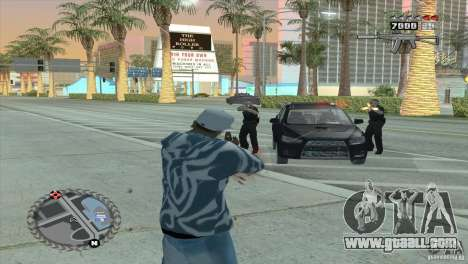 Ultra-modern HUD for GTA San Andreas forth screenshot