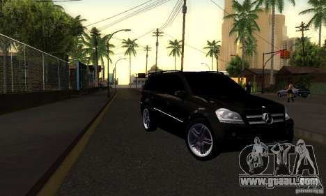 Mercedes-Benz GL 500 for GTA San Andreas back left view