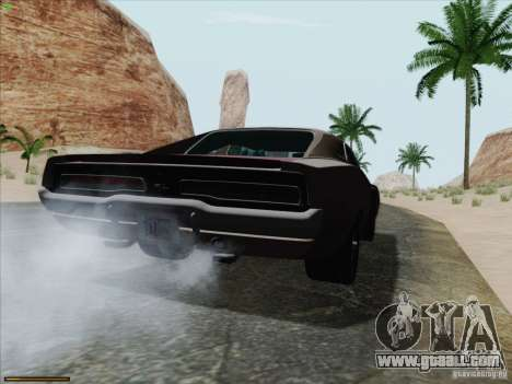 Dodge Charger 1969 for GTA San Andreas left view