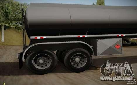 Caravan from Mack Pinnacle Rawhide Edition for GTA San Andreas right view