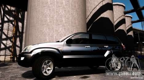 Toyota Land Cruiser Prado for GTA 4 back left view