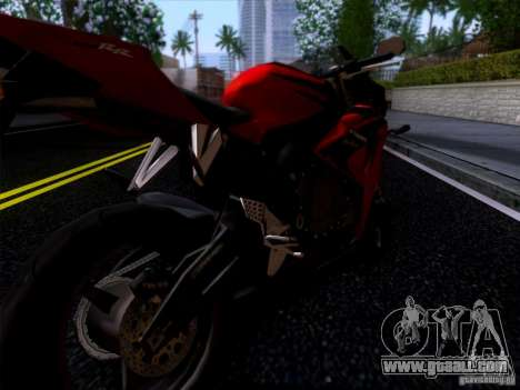 Honda CBR 600 RR for GTA San Andreas back left view