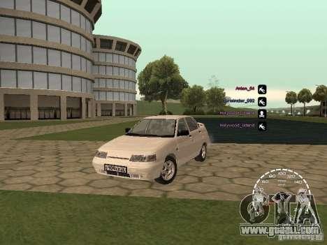 Speedometer Lada Priora for GTA San Andreas