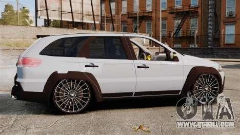 Fiat Palio Adventure Locker Evolution for GTA 4 left view