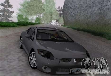 Mitsubishi Eclipse GT V6 for GTA San Andreas back left view