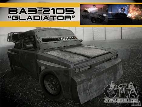 VAZ 2105 Gladiator for GTA San Andreas
