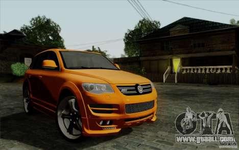 Volkswagen Touareg R50 Light for GTA San Andreas inner view