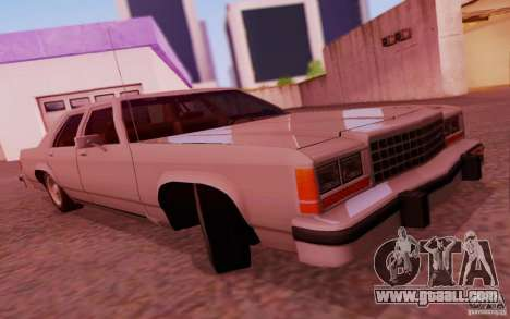 Ford Crown  Victoria LTD 1985 for GTA San Andreas