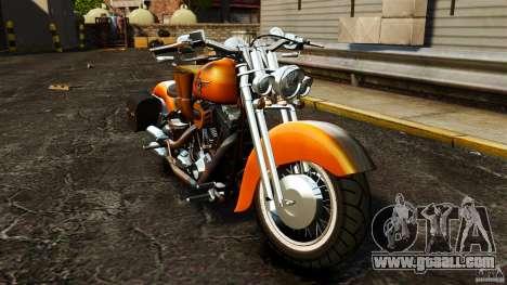 Harley Davidson Fat Boy Lo Vintage for GTA 4