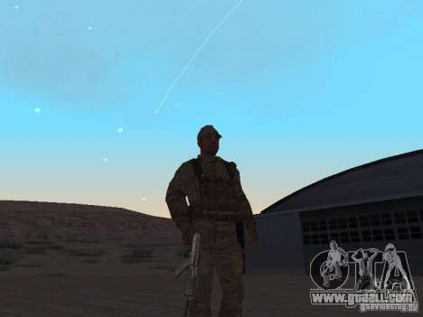 A Soviet Soldier Skin for GTA San Andreas second screenshot