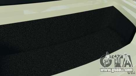 Nissan GT-R 2012 Black Edition for GTA 4 bottom view