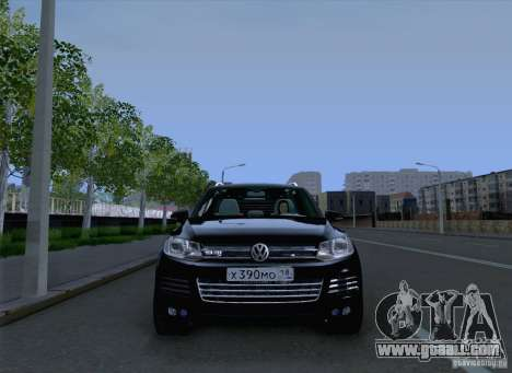 Volkswagen Touareg 2012 for GTA San Andreas back view