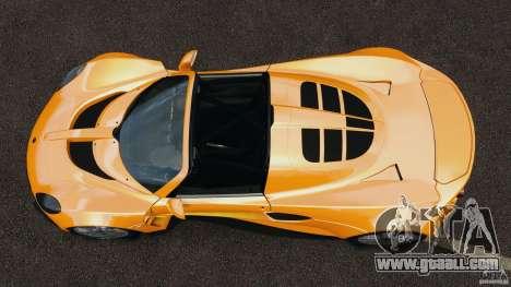 Hennessey Venom GT Spyder for GTA 4 right view