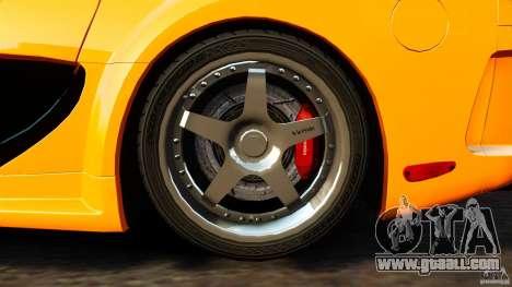 Mazda RX-7 Veilside Tokyo Drift for GTA 4 inner view