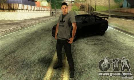 Jack Rourke for GTA San Andreas