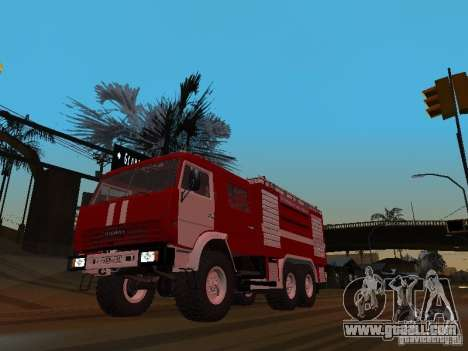 KAMAZ 43118 AC-7 for GTA San Andreas