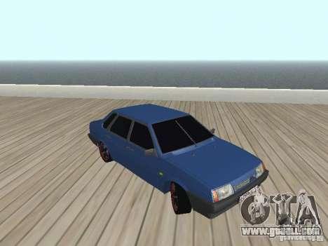 VAZ 21099 v2 for GTA San Andreas