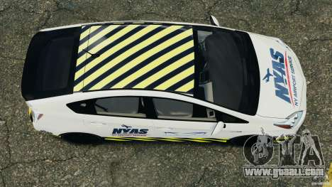 Toyota Prius NY Airport Service for GTA 4 right view