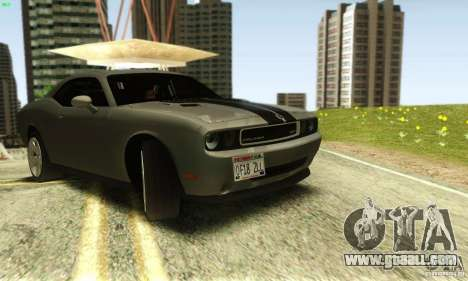 Dodge Challenger SRT-8 for GTA San Andreas right view