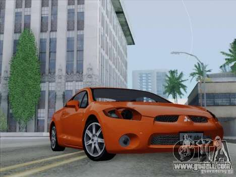 Mitsubishi Eclipse GT V6 for GTA San Andreas engine