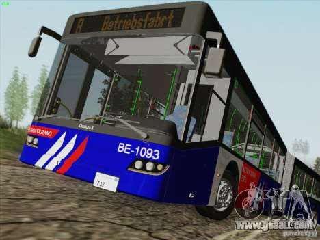 Design X3 for GTA San Andreas side view