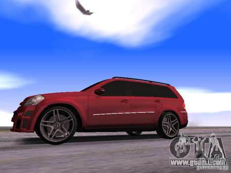 Mercedes-Benz GL500 Brabus for GTA San Andreas left view
