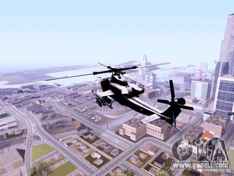 AH-1Z Viper for GTA San Andreas back left view
