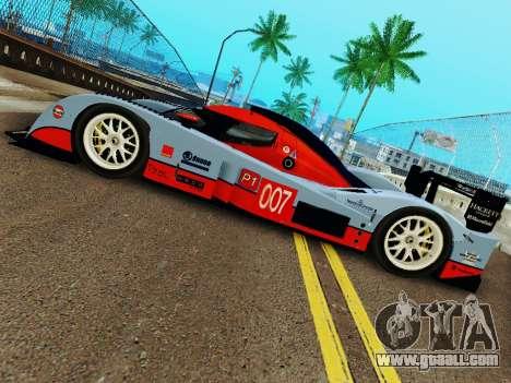 Aston Martin DBR1 Lola 007 for GTA San Andreas right view