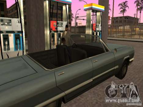 Busy gas station in Los Santos for GTA San Andreas forth screenshot