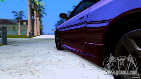 Nissan Silvia S15 Varietta for GTA San Andreas back left view