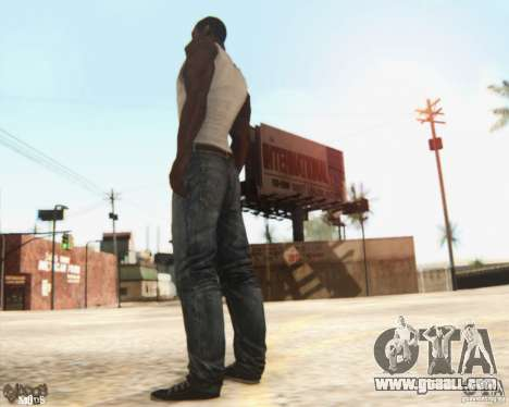 New CJ for GTA San Andreas third screenshot