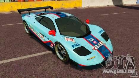 McLaren F1 for GTA 4 left view